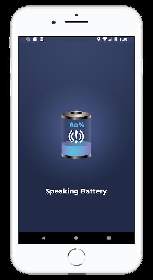Cool Apps - Speaking Battery Alert Alarm